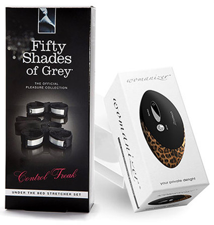 Womanizer W500 Pro + Fifty Shades Of Grey Bedboeien