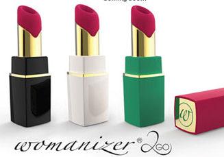 Womanizer 2GO lipstick vibrator op luchtdruk