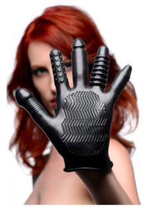 Masturbatie handschoen voor anaal en vaginaal vingeren